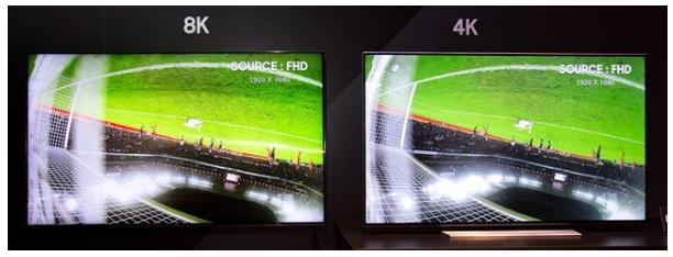 """研究发现,普通用户""""无法很好地感知"""" 4K和8K电视"""