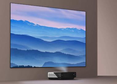 激光PK液晶彩电制造商已在大屏幕市场投入巨资